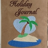 Tropical Island Holiday Journal A5 Notebook