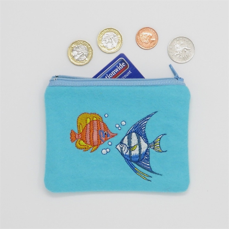 Tropical Fish Purse