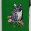 Cat in Flowers A6 Notebook