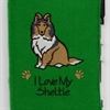 I Love My Sheltie A6 Notebook