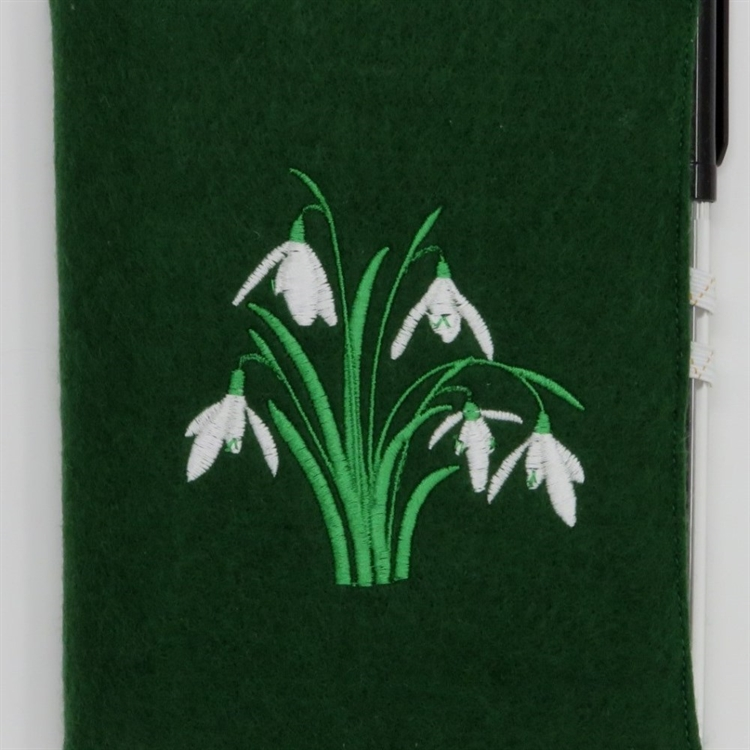 Snowdrops A6 Notebook